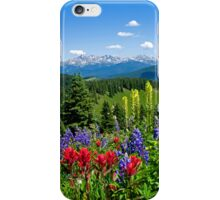 Mountain Wildflowers iPhone Case/Skin