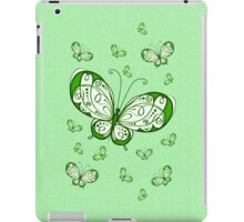 Green Butterflies .. iPad case iPad Case/Skin