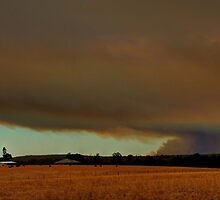 bushfire, south west WA by mrobertson7