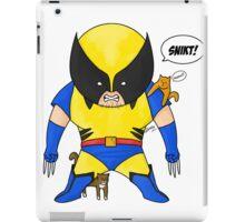 Cat Rescuing Superheroes iPad Case/Skin