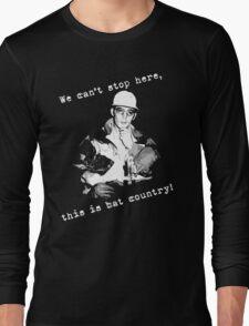 Hunter S Thompson Bat Country Long Sleeve T-Shirt