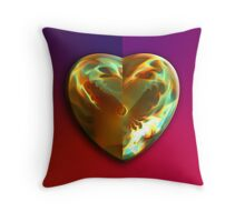 My Heart Burns For You Throw Pillow
