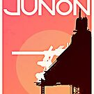 Final Fantasy VII - Junon Tourism Poster by FFVII-TheSeries