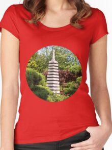 Japanese Garden Women's Fitted Scoop T-Shirt