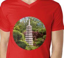 Japanese Garden Mens V-Neck T-Shirt