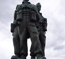 Commando Memorial, Spean Bridge, Highlands by Katherine Case