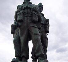 Commando Memorial, Spean Bridge, Highlands by Katherine Case