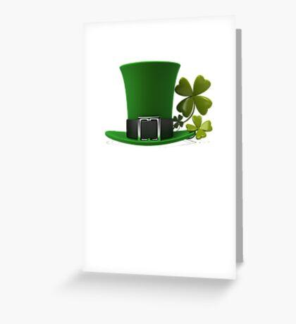 Saint Patrick's Day hat Greeting Card