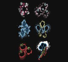 MLP Splatter Cutie Marks by BloodXIII