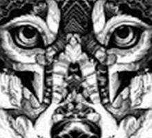 Wolf Sketch T-Shirt Sticker
