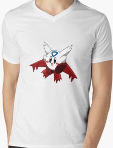 Kirby Pokémon Latias Mens V-Neck T-Shirt