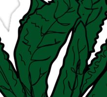 go to kale. (kale) <script> Sticker