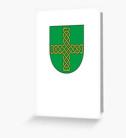 Saint Patrick's Day crest  Greeting Card