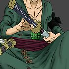zoro 2years later by mirko9