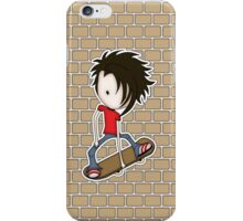 Skateboarder Teenage Boy Cartoon iPhone Case/Skin