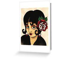 Gypsy Girl Greeting Card