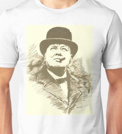 Churchill sketch Unisex T-Shirt