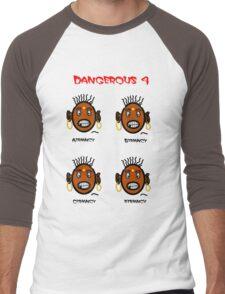Dangerous four Men's Baseball ¾ T-Shirt