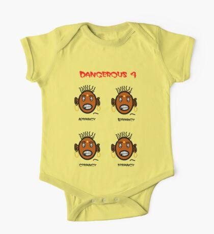 Dangerous four One Piece - Short Sleeve