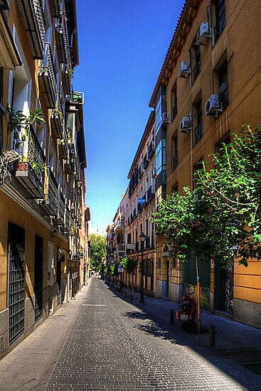 Old Quarter of Madrid by Tom Gomez