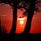 Red Sun by EthanMcFenton