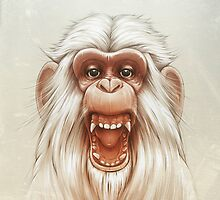 The White Angry Monkey by Lukas Brezak