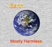 Earth: Mostly Harmless Zipped Hoodie