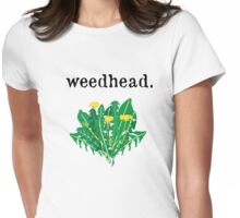 weedhead. (dandelion) Womens Fitted T-Shirt