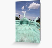 Statue of Liberty Sculpture, Governor's Island Greeting Card