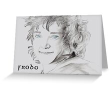 Frodo  Greeting Card