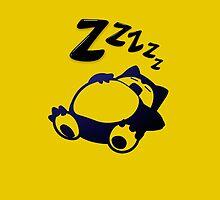 Snorlax ZZzZz by Namueh