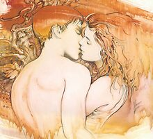 The Kiss by Anna Miarczynska