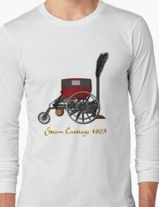 Richard Trevithick's London Steam Carriage 1803 T-shirt Long Sleeve T-Shirt