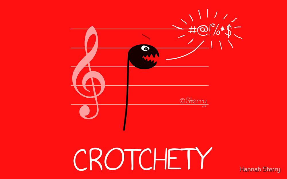 Crotchety by Hannah Sterry