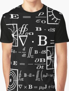 Maxwell's Equations Graphic T-Shirt