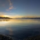 Morning Water Panorama by Will Rynearson