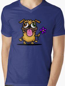 PUG PUG PUG Mens V-Neck T-Shirt