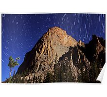Elephant's Perch Startrails Poster