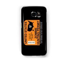 Zombie Hunting Permit 2012/2013 Samsung Galaxy Case/Skin