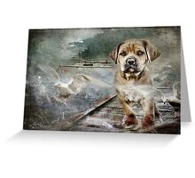 It`s all in a Day`s work Greeting Card