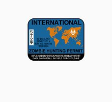 International Zombie Hunting Permit Unisex T-Shirt