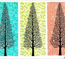 THREE TREES by RainbowArt