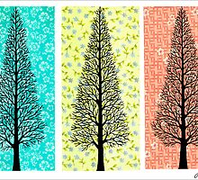 THREE TREES by RainbowArt