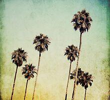 Palm Trees II by Mareike Böhmer