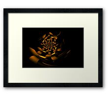 Curvilinear Project No. 41 ( Unfolding The Mysteries Of Love ) Framed Print