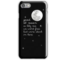 The Moon Is Smiling iPhone Case/Skin