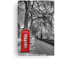 London Phone  Canvas Print