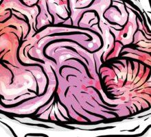 Brain Cupcake Sticker