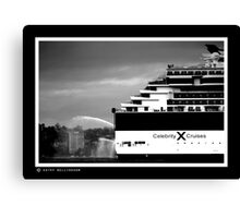 very big outboard Canvas Print