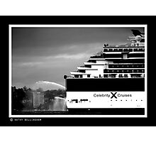 very big outboard Photographic Print